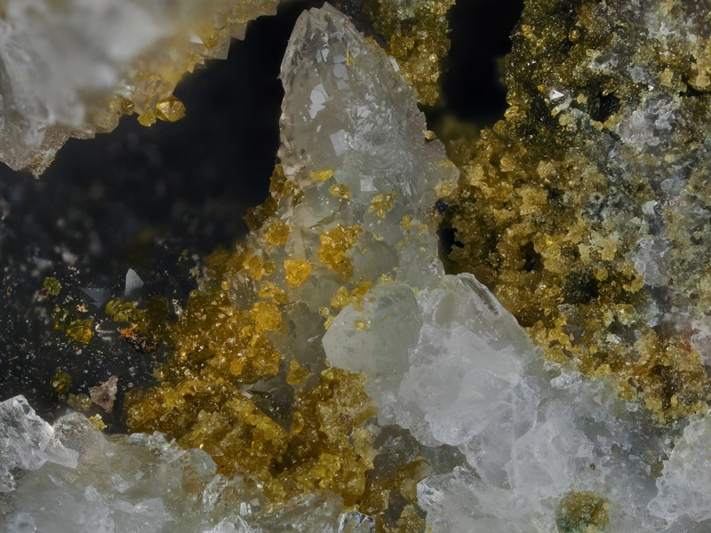 Gorceixite Quartz -  Mine de l'Eperon -  Beauvoir -  Echassières -  Allier